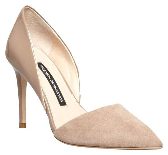 French Connection Tan/Puddy Pumps