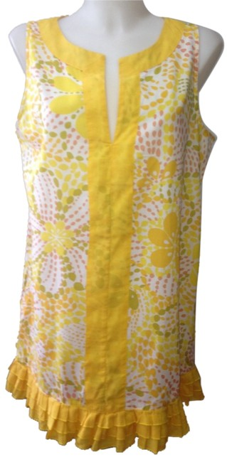 Preload https://item5.tradesy.com/images/jcrew-yellowmulti-floral-sundress-mini-short-casual-dress-size-4-s-4248529-0-0.jpg?width=400&height=650