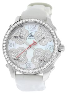 Jacob & Co. Jacob & Co. Five Time Zone JC-MATH12 Steel $20100 MOP Diamond 40mm. Watch