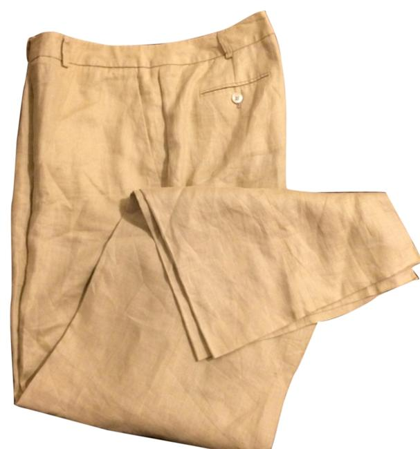 Preload https://item1.tradesy.com/images/brooks-brothers-khakicamel-trousers-size-14-l-34-4248760-0-0.jpg?width=400&height=650