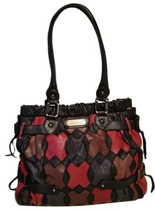Lockheart Tote in Red and black