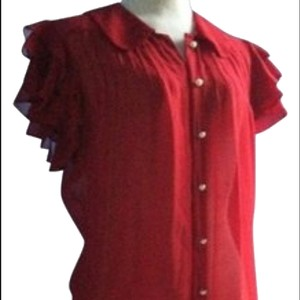 Jenny Han Top RED