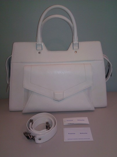 Proenza Schouler Satchel in White