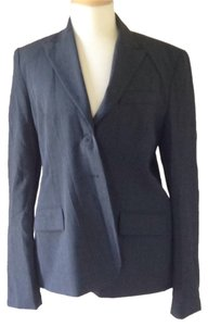 A Pea In The Pod A pea in the pod maternity blazer in charcoal grey.