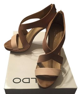 ALDO beige and nude Sandals