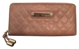Juicy Couture Camel Leather Quilted Wallet