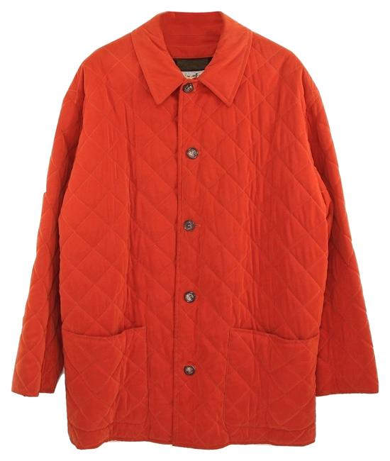 Preload https://item4.tradesy.com/images/hermes-orange-men-s-quilted-velvet-jacket-wool-lining-50-trench-coat-size-10-m-4250593-0-0.jpg?width=400&height=650