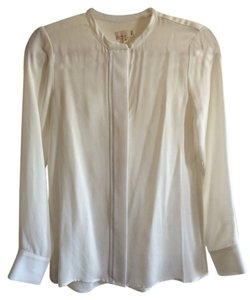 Cuyana Beige Neutral Top White