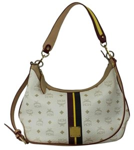 MCM Galleria Crescent Jackie-o Hobo Cross Body Bag