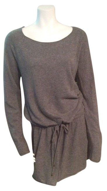 Label of Graded Goods by H&M short dress Grey Logg Sweater Drawstring on Tradesy