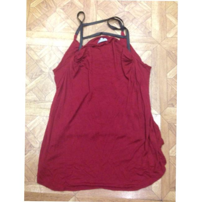 Charlotte Russe Top Red, black