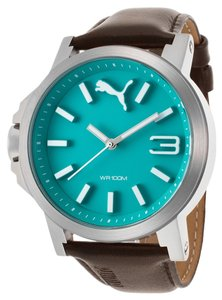 Puma Puma PU103462009 Women's Silver Analog watch With Teal Dial