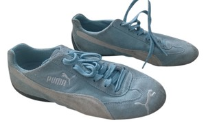 Puma Sneaker Suede blue white Athletic