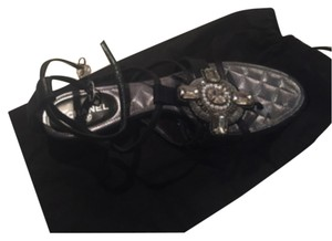 Chanel Black with stones Sandals