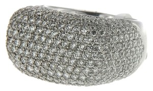 BRAND NEW, Ladies 18k White Gold Diamond Cocktail Ring