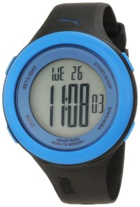 Puma Puma PU910961005 Men's Black Digital watch With Grey Dial