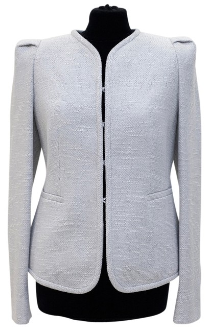 Preload https://item2.tradesy.com/images/armani-collezioni-silver-new-ss-2013-metallic-tweed-single-breasted-spring-jacket-size-16-xl-plus-0x-4252501-0-0.jpg?width=400&height=650