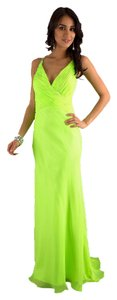Dave & Johnny Beaded Neon Dress