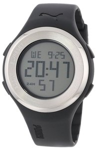 Puma Puma PU910981001 Men's Black Digital watch With Grey Dial