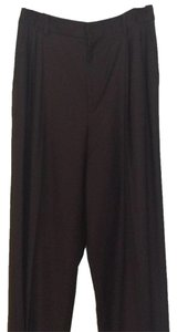 Ellen Tracy Straight Pants Chocolate Brown