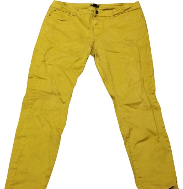 Preload https://item1.tradesy.com/images/forever-21-yellow-straight-leg-jeans-size-20-plus-1x-4252810-0-0.jpg?width=400&height=650