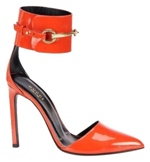 Preload https://item1.tradesy.com/images/gucci-orange-vernice-crystal-old-whisky-pumps-size-us-8-regular-m-b-4252945-0-2.jpg?width=440&height=440