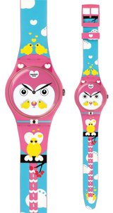 Swatch Swatch SUOZ190 Women's Pink Analog Watch With pink Dial