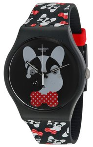 Swatch Swatch SUOB115 Unisex Black Analog Watch With Black Dial