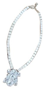 Versace CRYSTAL STATEMENT NECKLACE