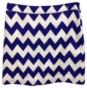 Kate Spade Mini Skirt Blue and White