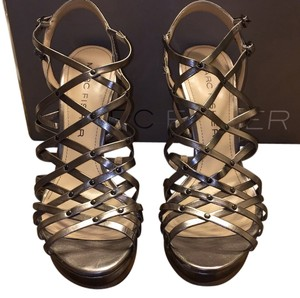 Marc Fisher Pewter Platforms