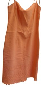 short dress orange Summer Knee Length on Tradesy
