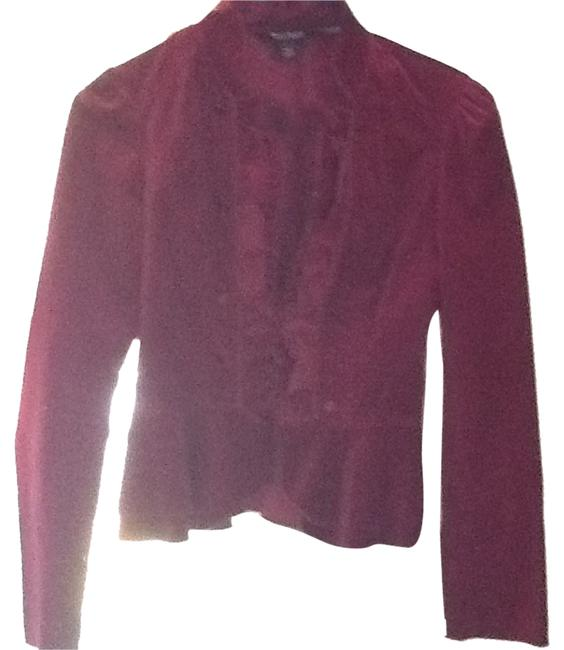 White House | Black Market Cranberry Blazer
