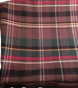 Ralph Lauren Ralph Lauren Linen Plaid - Fabric 3 yds. x 60
