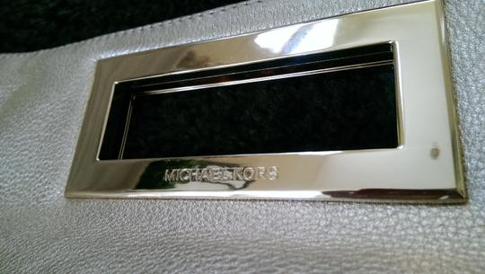 Michael Kors Stylish Modern Chic Gold Metallic Clutch