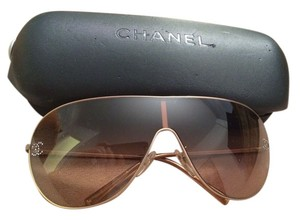 Chanel Chanel Crystal CC Aviator Sunglasses