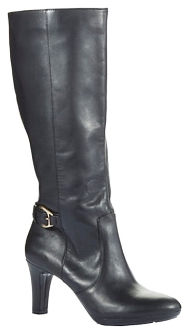 Item - Black Strahan Calf Boots/Booties Size US 10 Wide (C, D)