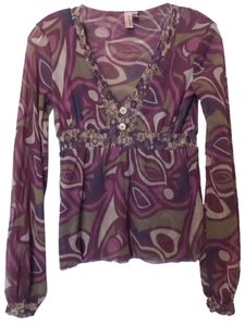 Sweet Pea by Stacy Frati Anthropogie Princess Top Green, Magenta, Burgendy, Blue +++