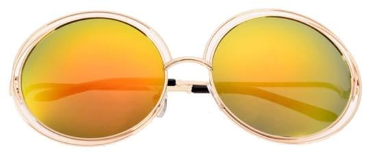 Other Trendy Oversized Circle Sunglasses
