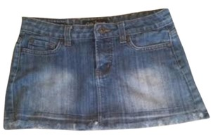 Cielo Flash Sale Mini Skirt Denim