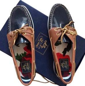 MILLY Navy Blue Flats