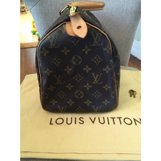 Louis Vuitton Lv Speedy 30 Speedy Satchel in Brown
