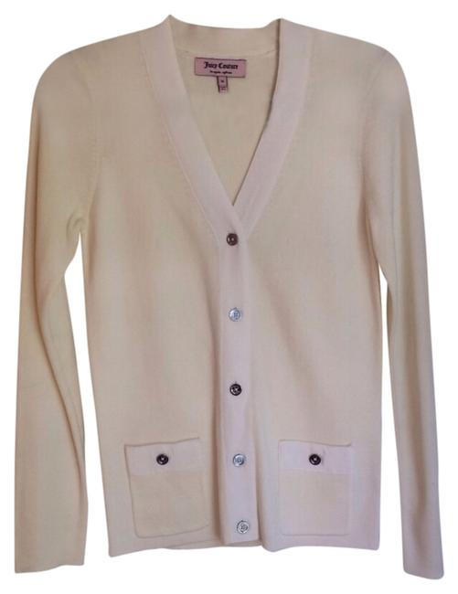 Preload https://item3.tradesy.com/images/juicy-couture-cream-button-sweaterpullover-size-8-m-4257787-0-0.jpg?width=400&height=650