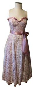 Jessica McClintock Vintage Lace Gunne Sax 80's Dress
