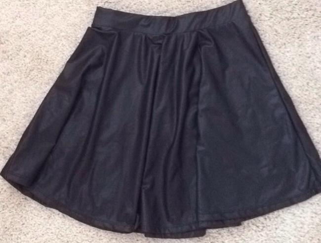 Bershka Mini Skirt Black