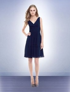Bill Levkoff Navy 154 Dress