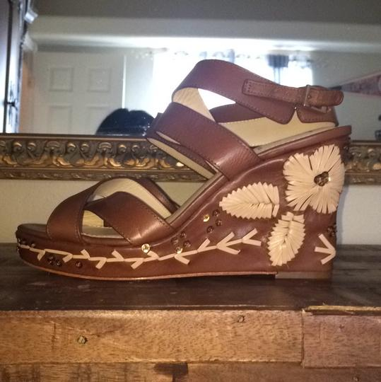 Vince Camuto Brown Wedges