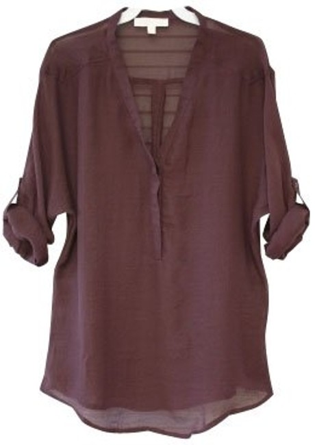 Preload https://item2.tradesy.com/images/anthropologie-brown-tunic-size-2-xs-426-0-0.jpg?width=400&height=650