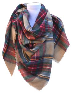 Zara NWOT Plaid blanket scarf