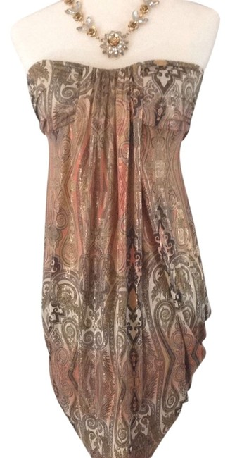 Item - Rose Golden Brown Night Out Dress Size 6 (S)